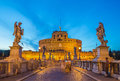 Castel Sant'Angelo - Rome - Italy Royalty Free Stock Photo