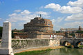 Castel Sant Angelo Rome Royalty Free Stock Photo