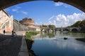 Castel Sant'Angelo (Santangelo) Rome - Italy