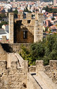 Castel Sao Jorge Royalty Free Stock Photo