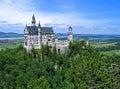 Castello di Neuschwanstein, Baviera Immagini Stock Libere da Diritti