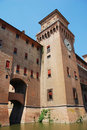 Castello Estense, Ferrara Stock Photo