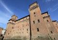 Castello Estense Royalty Free Stock Photo