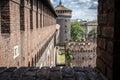 Castello sforzesco Milano Royalty Free Stock Photo
