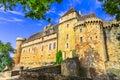 Castelnau-Bretenoux Royalty Free Stock Photo