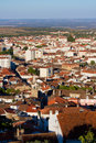 Castelo branco portugal view on Royalty Free Stock Images