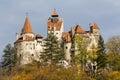 Castelo do farelo - museu Foto de Stock Royalty Free