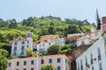 Castelo dos mouros view of sintra portugal Royalty Free Stock Photography