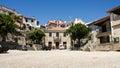 Castelo Novo, Beira Baixa, Portugal: the square Royalty Free Stock Photo