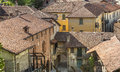 Castiglione olona italy varese lombardy view of the historic town Stock Photo