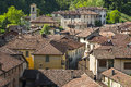 Castiglione olona italy varese lombardy view of the historic town Royalty Free Stock Image