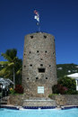 Castillo de Blackbeard Fotos de archivo libres de regalías