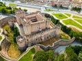 Castillo de Coca Royalty Free Stock Photo