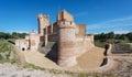 Castillo de la Mota in Medina del Campo, Castille, Spain Royalty Free Stock Photo