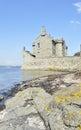 Castillo de la negrura Fotografía de archivo
