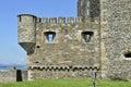 Castillo de la negrura Imagen de archivo libre de regalías