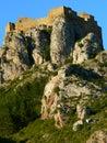 Castillo de Loarre, Huesca (Spain ) Stock Photos
