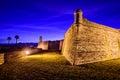 Castillo de San Marcos National Monument Royalty Free Stock Photo