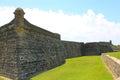 Castillo de San Marcos in St. Augustine, Florida. Royalty Free Stock Photo