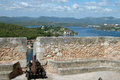 Castillo del morro santiago de cuba Royalty Free Stock Photos