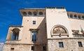 Castle of Acquaviva delle Fonti. Puglia. Italy. Royalty Free Stock Photos