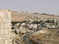 Castle Al Kerak in Jordan Royalty Free Stock Images
