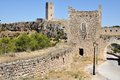 Castle of Alarcon in Spain Royalty Free Stock Photography