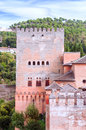 Castle of the Alhambra Royalty Free Stock Photo