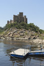 Castle of Almourol Royalty Free Stock Photo