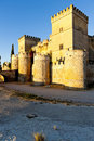 Castle of Ampudia Royalty Free Stock Photos
