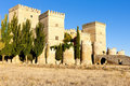 Castle of Ampudia Royalty Free Stock Photography