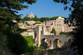 Castle Besalu, Spain Stock Images