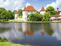 Castle blutenburg bavaria germany the in munich in june Royalty Free Stock Photos
