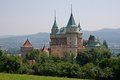Castle Bojnice, Slovakia Royalty Free Stock Photos