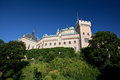 Castle bojnice slovakia beautiful in europe Royalty Free Stock Image