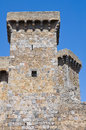 Castle of Bolsena. Lazio. Italy. Stock Images