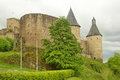 Castle of Bourscheid, Luxembourg, Europe