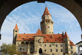 Castle Bouzov. Czech republic Royalty Free Stock Photo