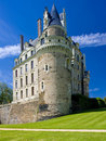Castle of Brissac-Quince Stock Images