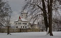 Castle Budatin in winter, Slovakia