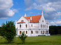 Castle captain kapetanovo was built by bishop hybro bela years the is located along the road way zrenjanin vrsac Stock Image