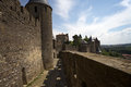 Castle of Carcassonne Stock Image