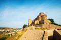 Castle of cardona catalonia general view Royalty Free Stock Images