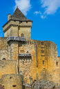 Castle of castelnaud la chapelle france june exterior on june th at dordogne perigord Stock Photos