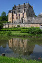 Castle in Chatillon Royalty Free Stock Photography