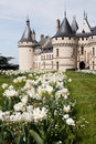Castle of Chaumont Stock Photo
