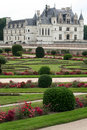 Castle of Chenonceau, France Stock Image