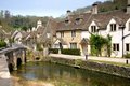 Castle Combe Royalty Free Stock Photography