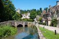 Castle Combe Royalty Free Stock Image