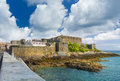 Castle cornet guernsey st peter port channel islands Royalty Free Stock Image